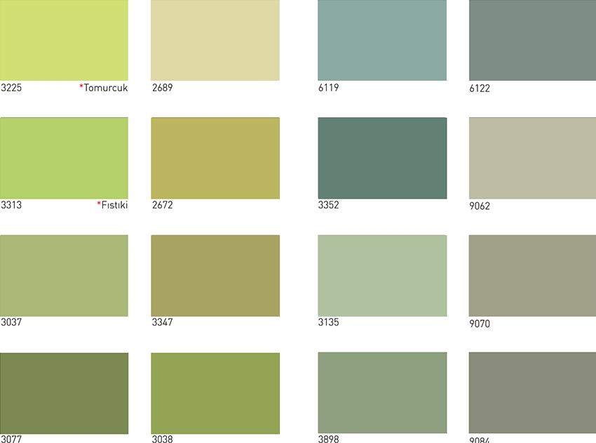 Dyo Renk Kataloğu 1001 Renk Kataloğu Binlece Renk Net Görüntü 1